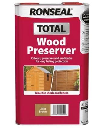 New Ronseal Total Wood Preserver Pic